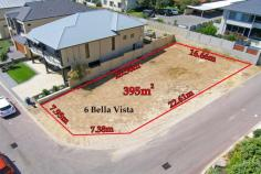 Scarborough WA Last Lot in a very unique beachside location directly over the road is the beach accessed on Brighton Beach Track #3 which is literally 50m from your home. Plans available (Lapsed DA) fully documented or an offer from the owner who is an architect for free design advice and Schematics. Ocean views will not be built out from this lot. Plans available or design your own home. A 395 sqm lot in an exclusive enclave of new, neat, highly specified homes. This lot is clear and ready to build your dream upon with dual street frontages allowing an option to garage locations. Walk through the winding track as it meanders around picturesque and untouched dune systems brimming with unique flora and fauna until you emerge at what is perhaps the most quiet and reclusive stretch of beachfront on the entire Perth Coastline. To have such a desolate stretch of back beach this close to the centre of Perth City is truly quite amazing. Even during a summer heat wave, when you can see the bikini clad throngs in the distance at Scarborough beach to the north and the action packed City Beach dog beach to the south, you would be lucky to share the waters at the end of Track 3 with one or two other people, and on most occasions there is not another soul around.