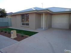 114 Rudall Ave Whyalla Playford SA 5600 $220 NEAR NEW - GREAT LOCATION! *Open plan kitchen/meals and lounge with R/C split system A/C *Two carpeted bedrooms both with BIR's *Kitchen features electric ceramic cooktop, wall oven, dishwasher, laundry nook, BI desk and sliding door access to paved courtyard *Laminate flooring t/out *Ultra modern tiled bathroom providing separate bath, shower, toilet and vanity *Single garage UMR with auto roller door and internal access door to hallway *Prime residential location, walking distance to Whyalla Wetlands and shopping hub PROPERTY DETAILS $220 ID: 358398 Available: Now Pets Allowed: Yes