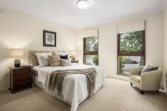 1/131 Rowell Avenue Camberwell VIC 3124 ccupying prime street frontage in a beautiful tree lined avenue, this sunlit villa unit strikes the ultimate chord between beautifully proportioned, easy-care accommodation and accessibility to Camberwell's finest amenities. Endless appeal for downsizers, investors or those seeking their first home opportunity, the lovingly maintained single-level layout showcases elevated porched entry opening to inviting light-filled interiors comprising wide central hall, spacious living and dining domain flowing to the substantial L-shaped kitchen and meals area, three well-appointed bedrooms with the main bedroom offering lovely leafy outlooks, tidy central bathroom, separate toilet & shower, sizeable laundry and sunny north-west orientated courtyard. Additional highlights include ducted heating, air-conditioning, built in robes, stand alone lock up garage offering 2 car spaces & additional 2 off street car parks. Positioned in a small complex of only four residences, this quality built solid brick villa comfortably lends itself to a modern renovation, external revival & or extension STCA further capitalising on an exceptional location just moments from Camberwell Sportsground, Camberwell South Primary School, respected independent schools, Burke Rd & Camberwell Junction shops & cafes, plus convenient tram routes & easy Freeway access.