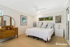 2/5 Trinity Place Skennars Head NSW 2478 $700,000 - $730,000 Situated in a cul de sac sitting privately back from the road, this freestanding four bedroom villa will surprise you with all the space and feeling of a house. This home features spacious bedrooms, ample living space and an open plan dining area and kitchen that lead out to a sunny, covered outdoor area overlooking the backyard. This peaceful property has been beautifully landscaped with established tropical gardens that lend to the secluded, coastal feel of this villa - and it is also conveniently located next to a walkway and bicycle paths that run throughout the whole subdivision. * Air conditioned dining and kitchen for year round comfort * Master bedroom with ensuite and walk-in robe * Preschool, primary school and high school in the subdivision * Remote controlled DLUG with internal access